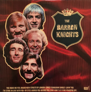 Barron Knights (The) ‎- The Barron Knights (11th Album) (LP) (Signed) (EX-/VG)